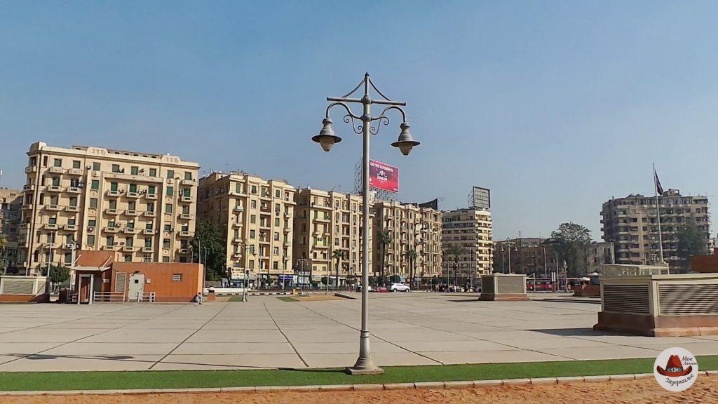 Площадь ТахрирКаир за один день