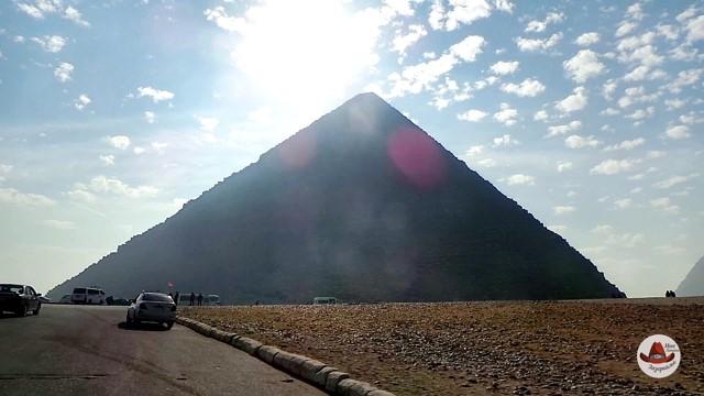 Египетские пирамиды. Внутри пирамиды Хеопса
