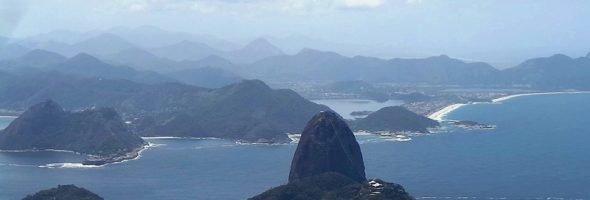 Гора Сахарная голова в Рио.
