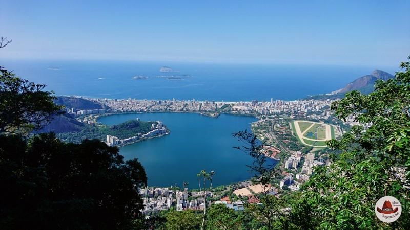 Вид на Рио. Район Ипанема.
