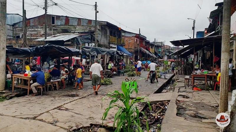 Рынок Белен в Икитос