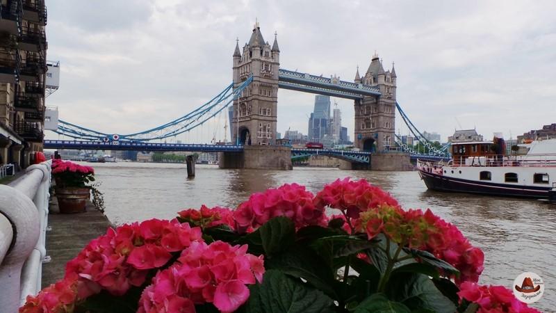 Символ Лондона и Британии.Тауэрский мост.