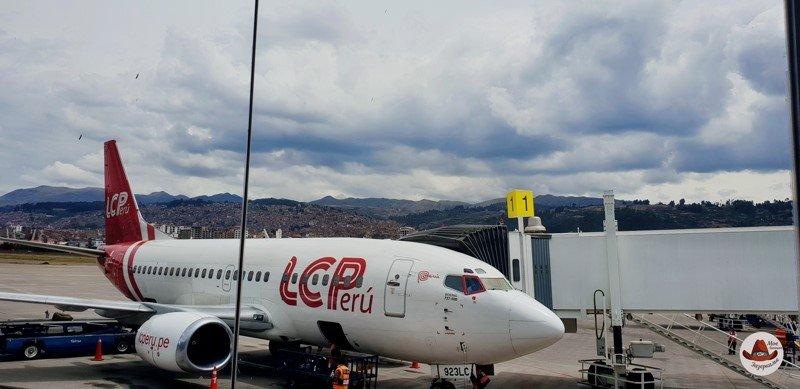 Поэтому полет покупался в одной авиакомпании (LC Peru
