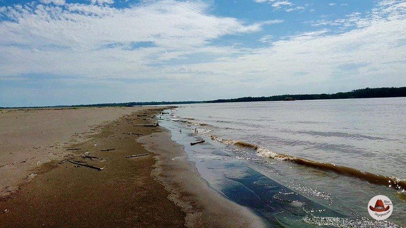 Пляжи на Амазонке