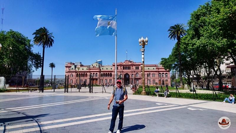 Буэнос Айрес.Президентский дворец.