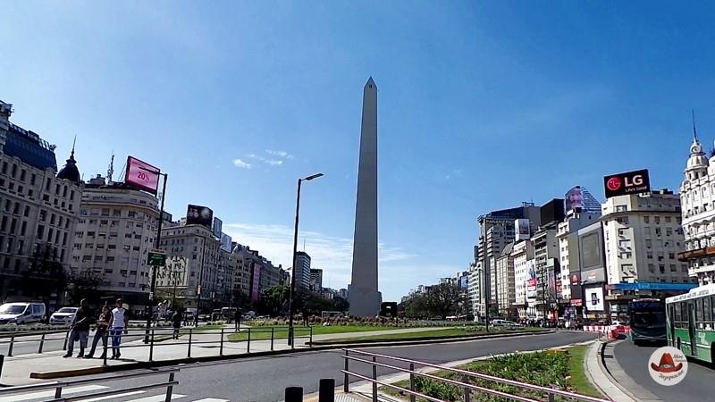 Районы Буэнос Айреса. Обелиск.