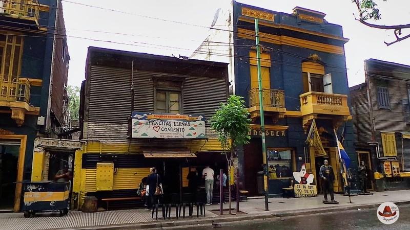 Район возле стадиона Бока Хуниос.