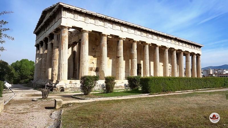 Храм Гефеста в близи