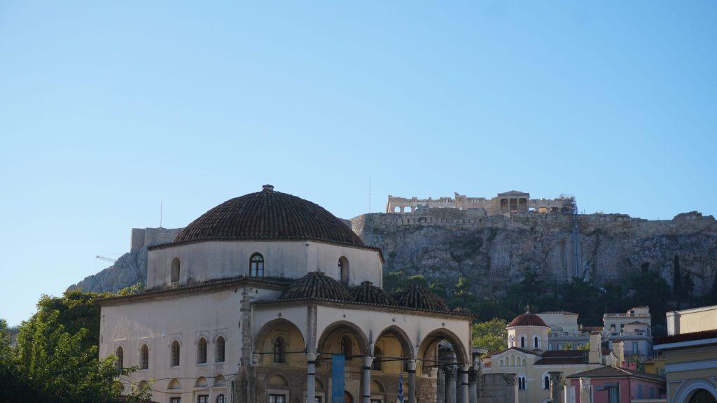 Вид на Парфенон с Монастираки