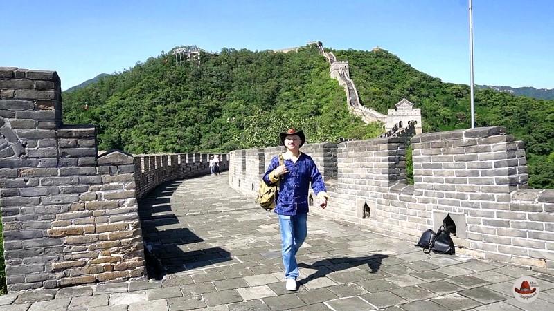 Пешком по Великой Китайской стене.Участок Мутяньюй.