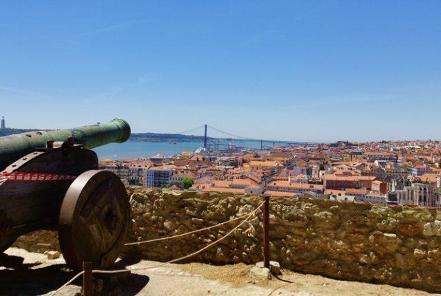 Красные крыши Лиссабона