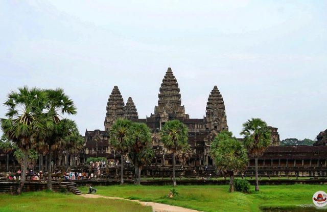 Как встретить рассвет в Ангкор Ват.