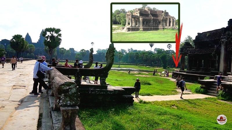 На мой взгляд лучшее место для встречи рассвета.Как встретить рассвет в Ангкор Ват.