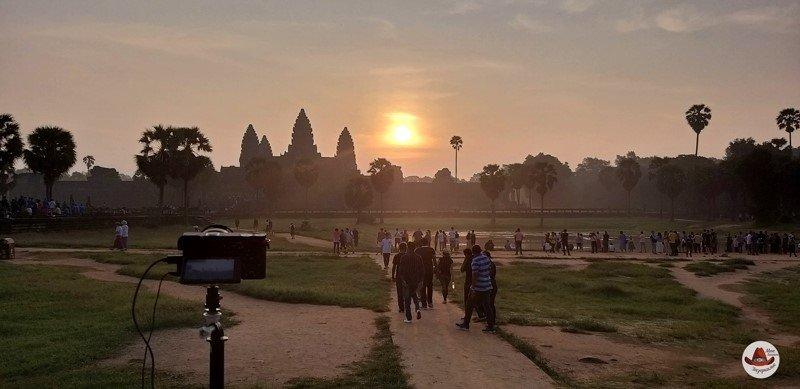 Как встретить рассвет в Ангкор Ват